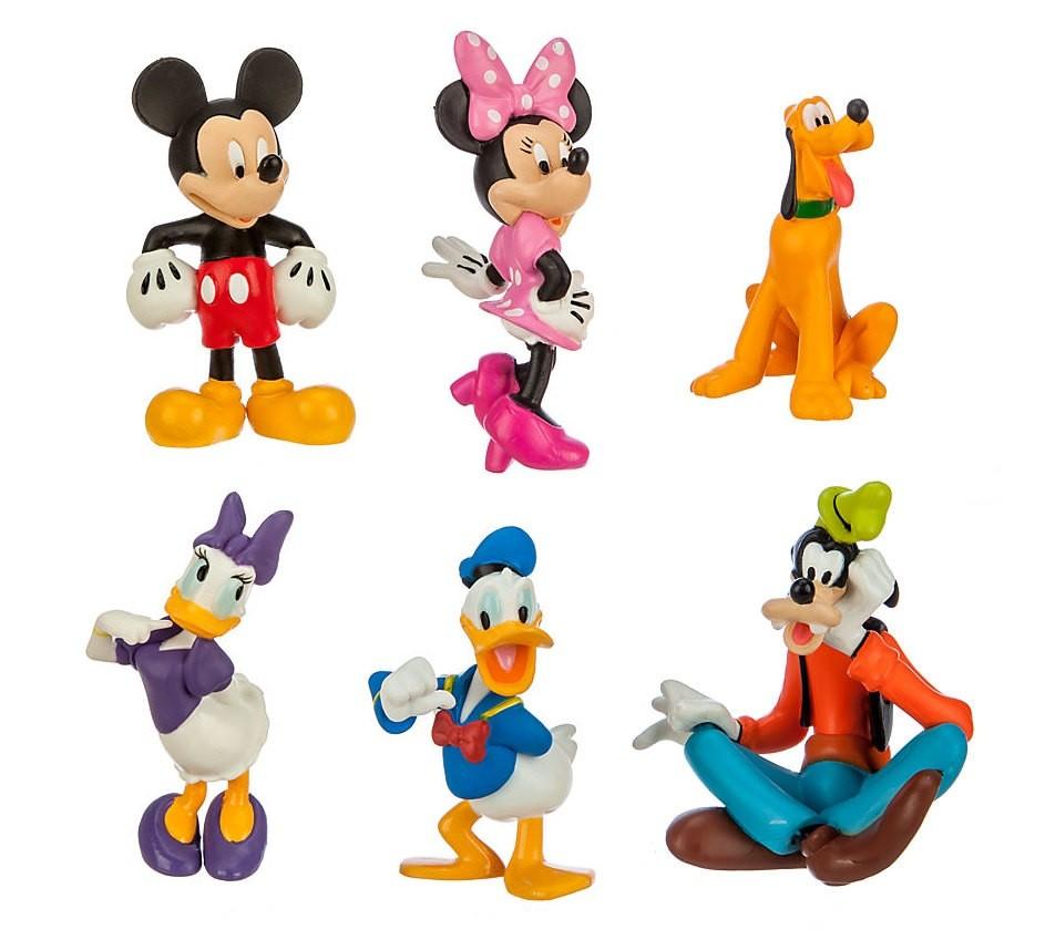 Set 6 Figurine Clubul Lui Mickey Mouse 10 Cm Artemisgift Ro